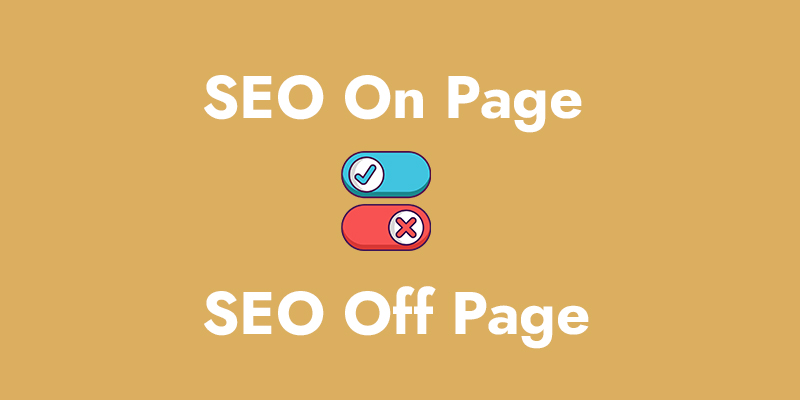 Seo on page y seo off page
