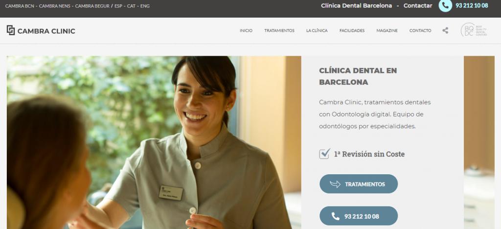 marketing web clinica dental