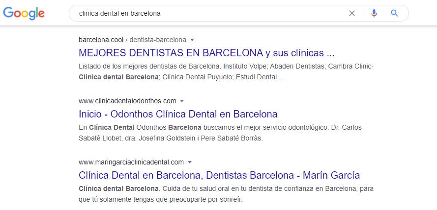 marketing digital clinicas dentales seo