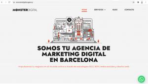 pagina monster digital agency